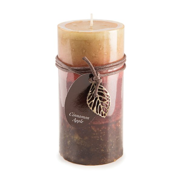 Cinnamon Scent Pillar Candle by Charlton Home