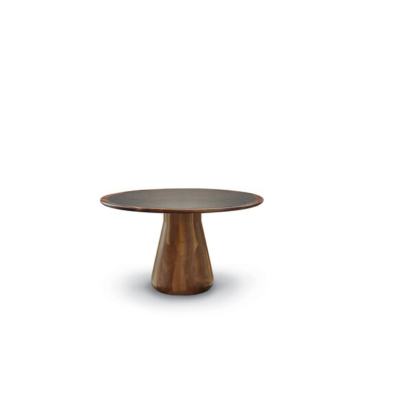 Bob Circular Fixed Solid Wood Dining Table by YumanMod