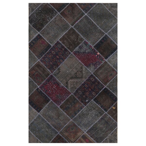 One-of-a-Kind Lancer Hand-Knotted Wool Beige Area Rug by Bloomsbury Market