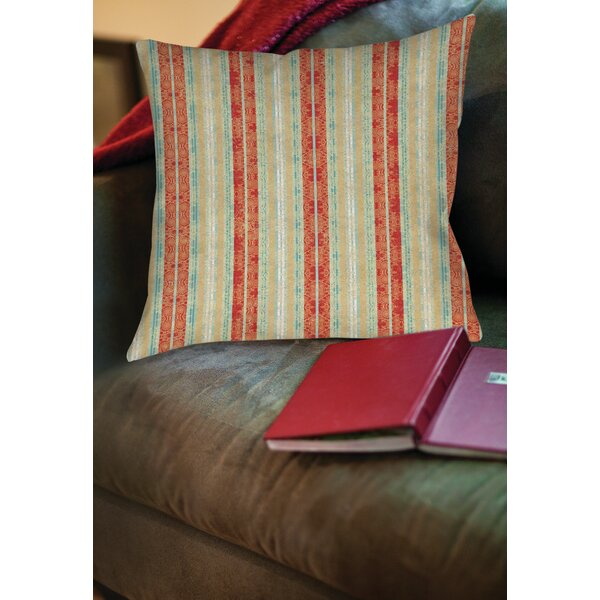 Kerrie Patterns 14 Printed Throw Pillow by Red Barrel Studio