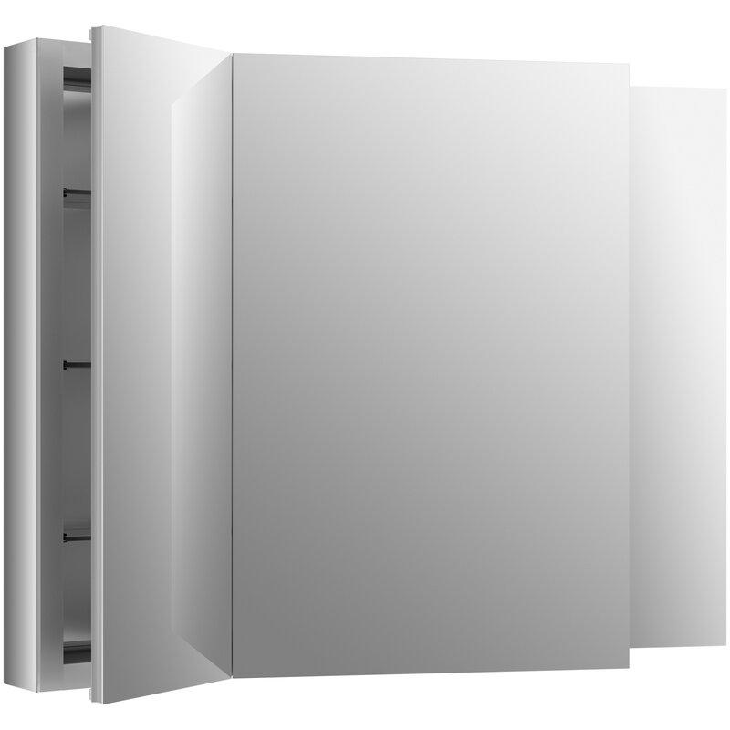 K 99010 Na Kohler Verdera 40 Quot X 30 Quot Aluminum Medicine Cabinet Amp Reviews Wayfair