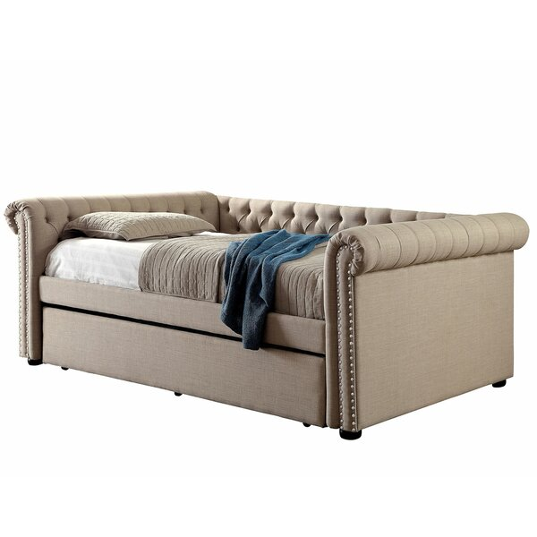 Kenya Daybed with Trundle by Rosdorf Park