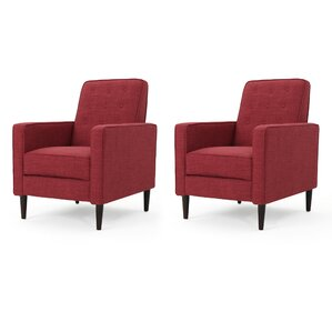 Kenzie Recliner (Set of 2)  sc 1 st  Wayfair : red cloth recliners - islam-shia.org