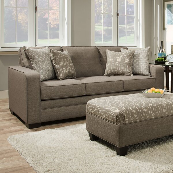 Cornelia Upholstery Heath Sofa by Latitude Run