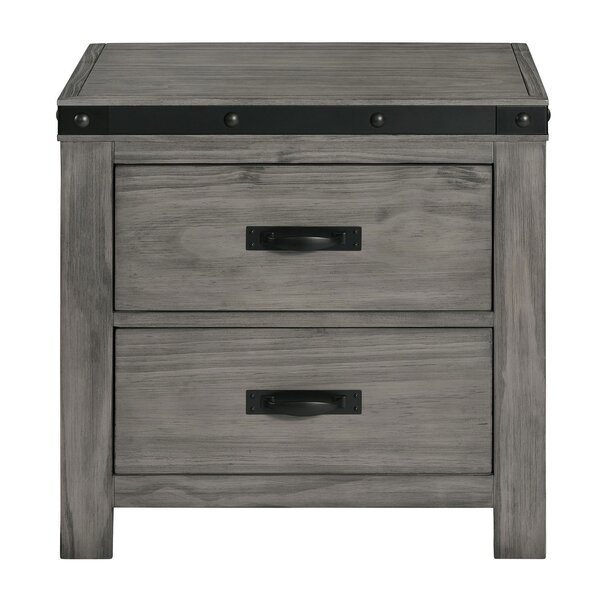 Olvera 2 Drawer Nightstand by Williston Forge