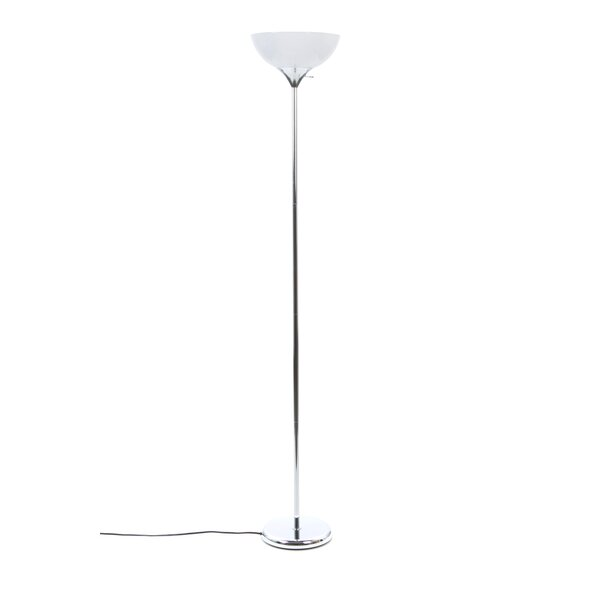 Trym 69 Torchiere Floor Lamp by Wrought Studio