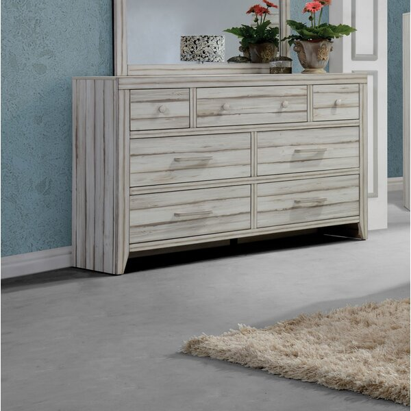 Andrews 7 Drawer Dresser by Highland Dunes