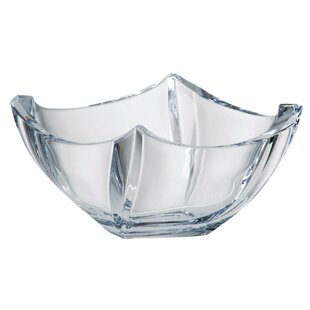 Reviews Serving Bowl By Majestic Crystal