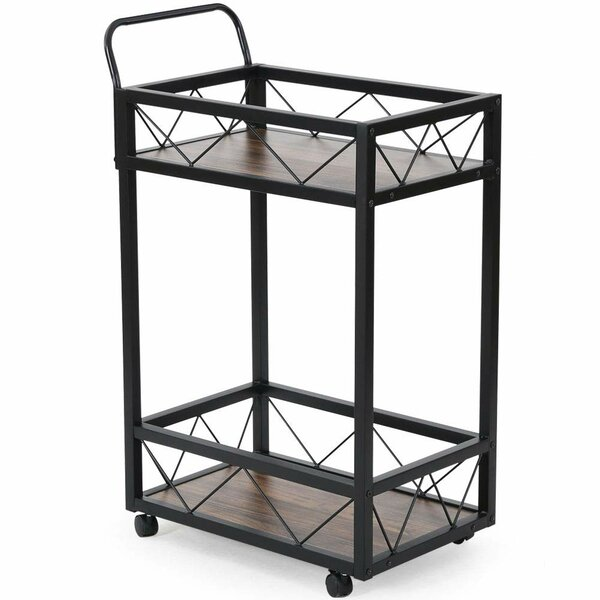 Southerland 2-Tier Bar Cart by Winston Porter