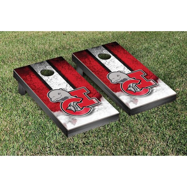California State Channel Islands Dolphins Vintage Version Cornhole Game Set by Victory Tailgate