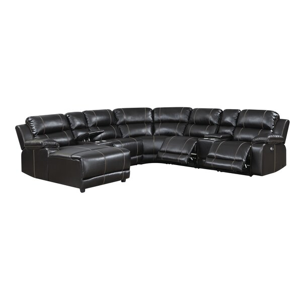 Yates Left Hand Facing Reclining Sectional By Canora Grey