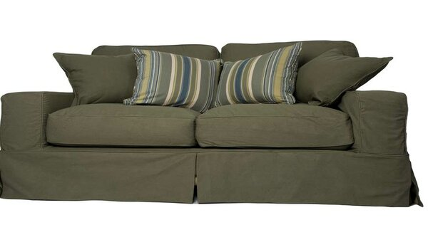 Best #1 Oxalis Slipcovered Sofa By Breakwater Bay Sale on ...