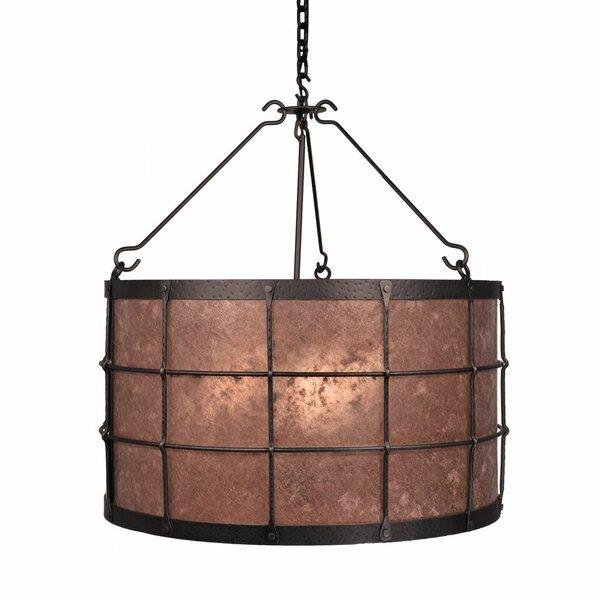 Bax 3 - Light Lantern Drum Chandelier By Loon Peak