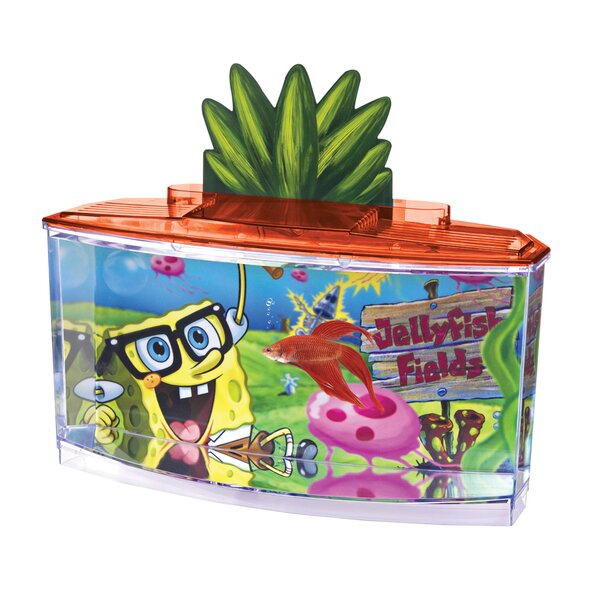 0.7 Gallon SpongeBob Betta Aquarium Kit by Penn Plax