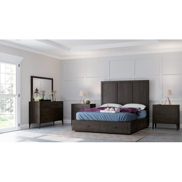 Mifley Platform 5 Piece Bedroom Set by Wrought Studio