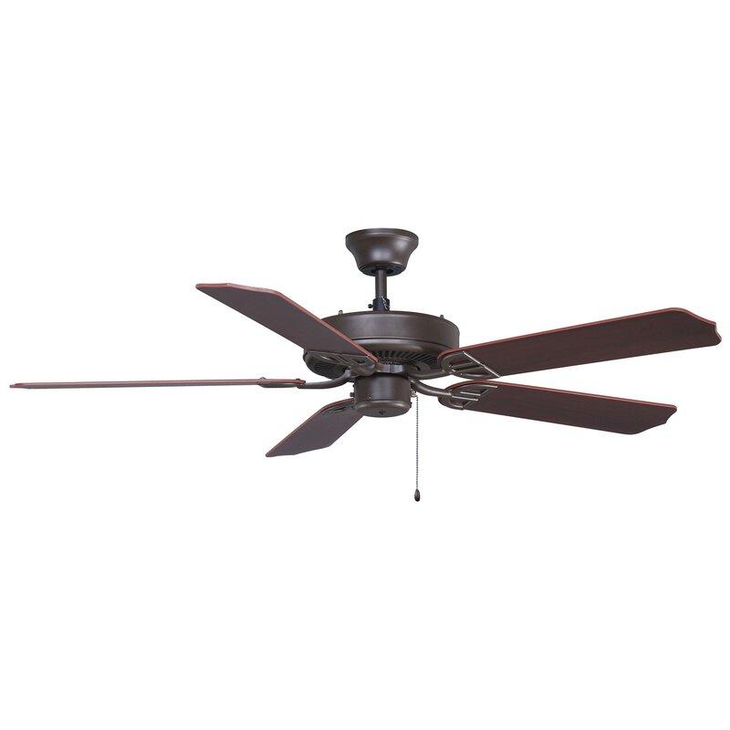 5 Blade Indoor Outdoor Ceiling Fan