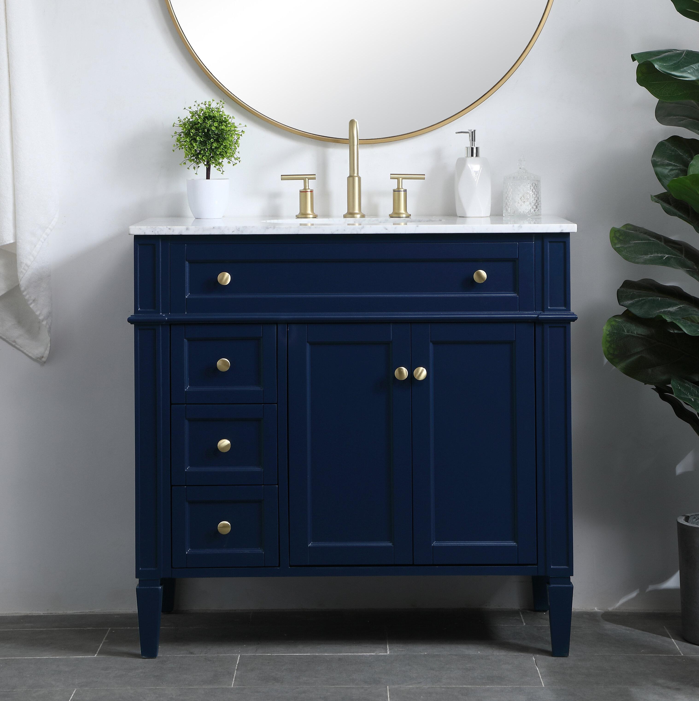 Beachcrest Home Francine 36 Single Bathroom Vanity Set Reviews Wayfair
