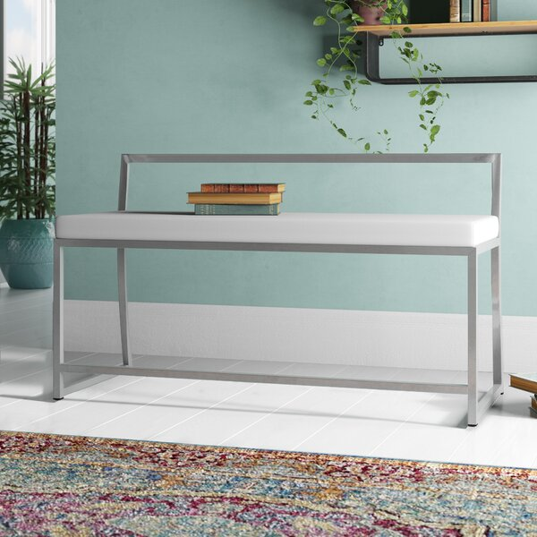 Gary Upholstered Bench by Wade Logan