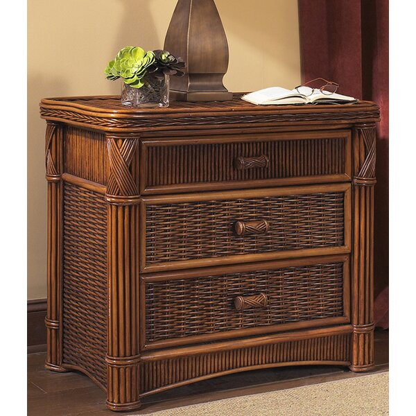 Woodlake 3 Drawer Bachelors Chest by Bay Isle Home