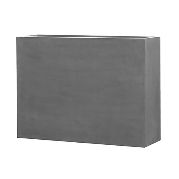 Creasman Long Rectangular Fiberstone Planter Box by 17 Stories