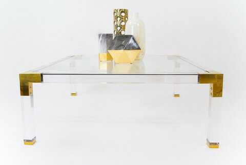 Free S&H Lucite Coffee Table