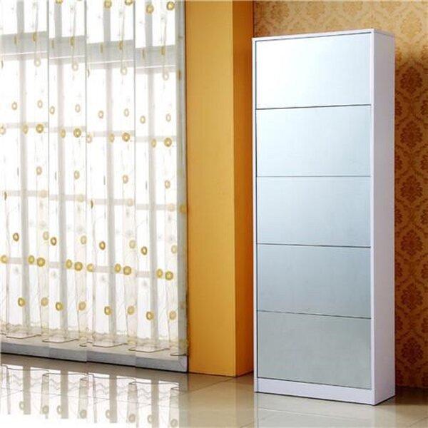16 Pair Shoe Storage Cabinet