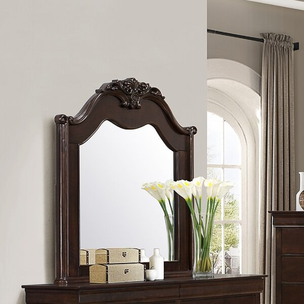 Jolliff Arched Dresser Mirror by Astoria Grand
