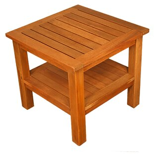 Terrace Mates Two Shelf High End Table by Blue Star Group