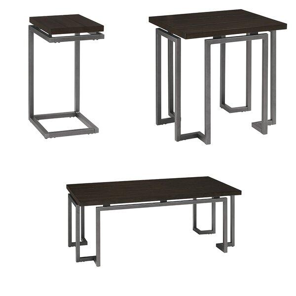 Catlett 3 Piece Coffee Table Set by Williston Forge Williston Forge