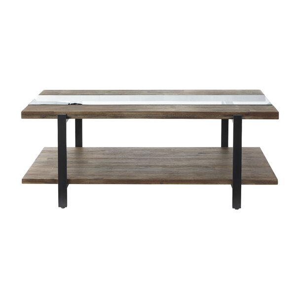 Poppe Coffee Table by Union Rustic
