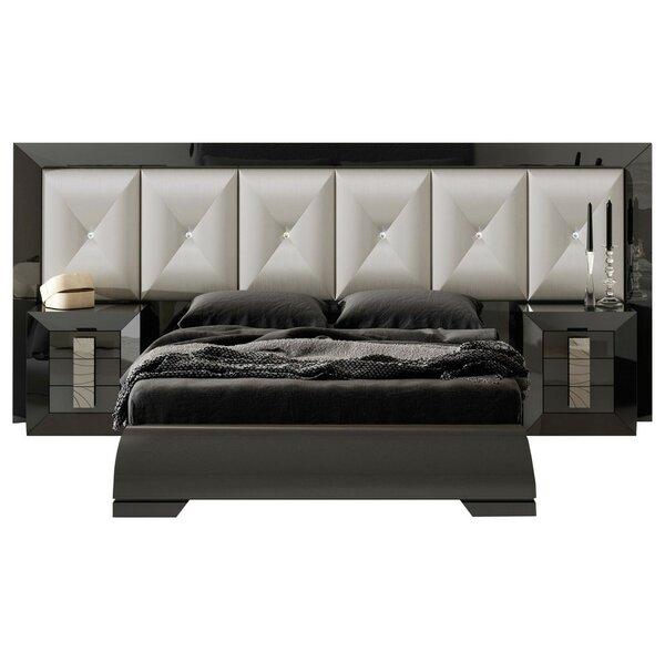 Komar Special Headboard Standard 4 Piece Bedroom Set by Everly Quinn