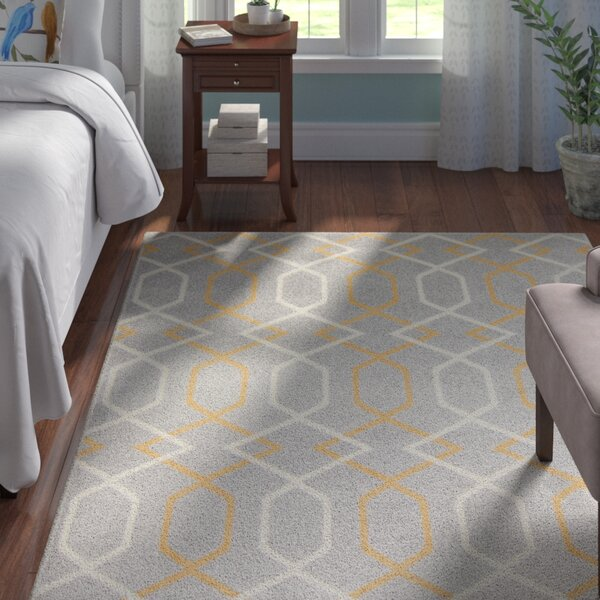 Dufresne Gray Area Rug by Andover Mills