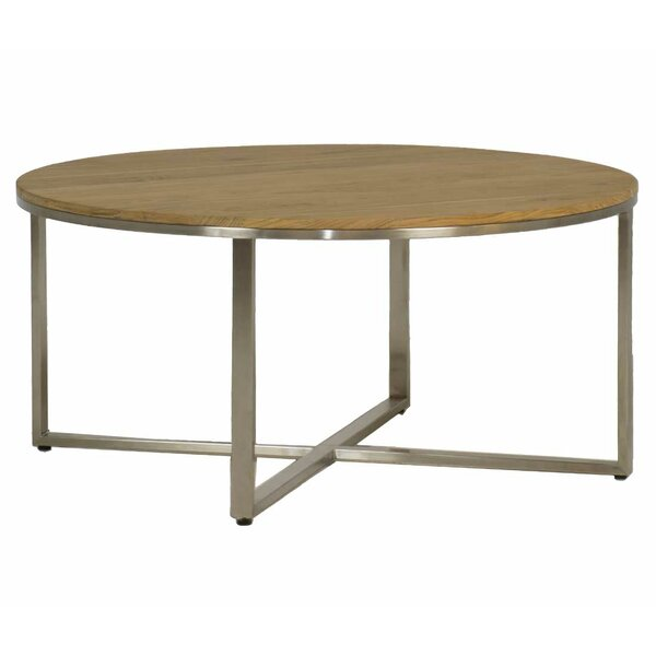 Bradley Stainless Steel Coffee Table by Summer Classics