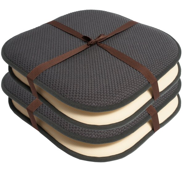 Indoor/Outdoor Dining Chair Cushion (Set of 4) by Ebern Designs