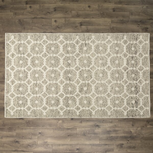 Vermont Hand-Woven Gray/Ivory Area Rug by Martha Stewart Rugs