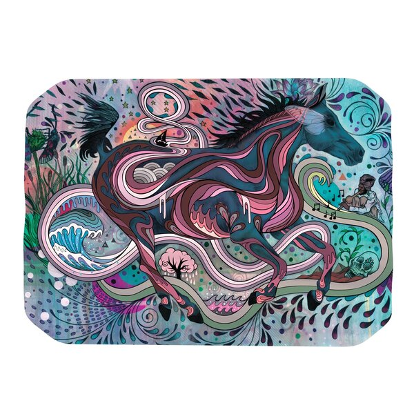 Poetry in Motion Placemat by KESS InHouse