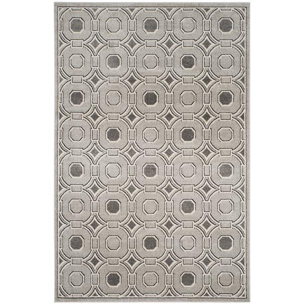 Maritza Light Power Loomed Gray/Ivory Area Rug by Willa Arlo Interiors