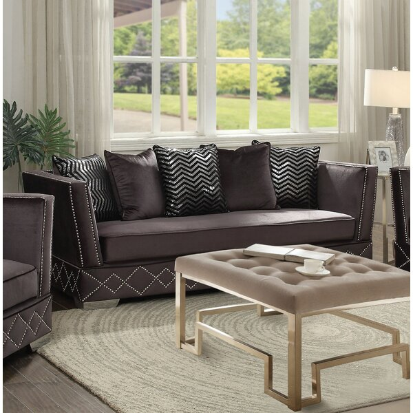 Stanford Standard Sofa by Everly Quinn
