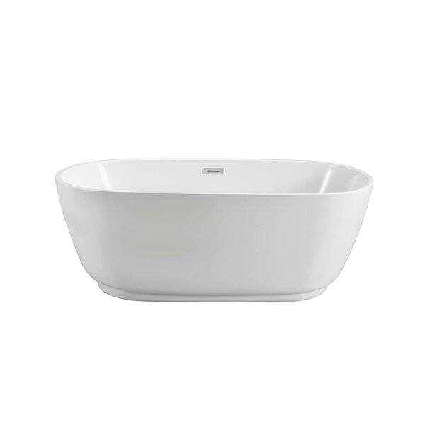 Streamline 67 x 31 Freestanding Soaking Bathtub by Streamline Bath