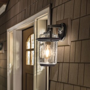 Compare prices Araiza Outdoor Wall Lantern By Longshore Tides