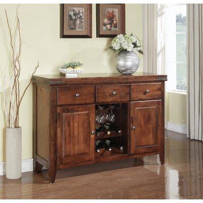 Charlton Home Metivier Wood Sideboard  Color: Brown
