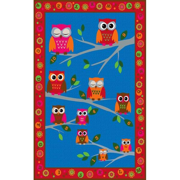 Hoot Hoot Owl Childrens Area Rug by Kid Carpet