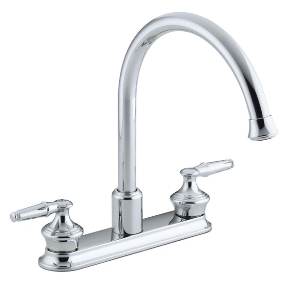 Coralais Double Handle Kitchen Faucet by Kohler