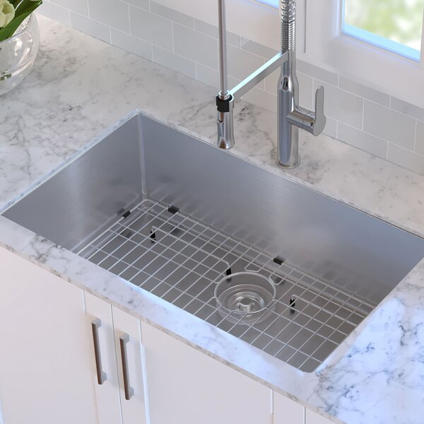 32 L x 19 W Undermount Kitchen Sink by Kraus