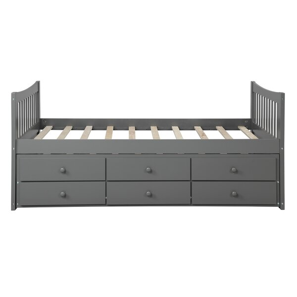 Eilidh Twin Bed with Trundle by Harriet Bee