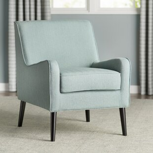 Great deal Cairey Blanco Armchair by Langley Street