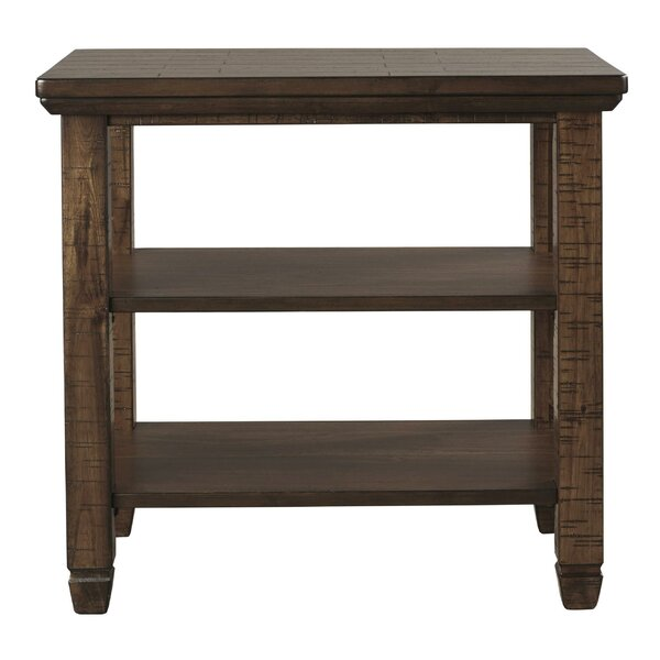 Jonis End Table With Storage By Gracie Oaks