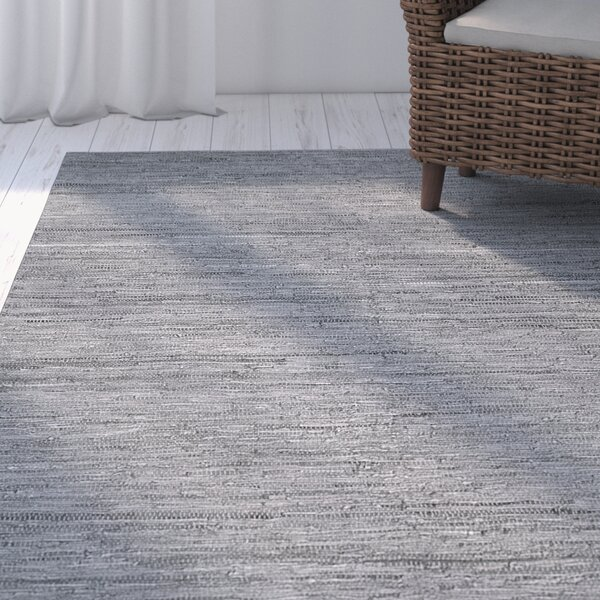Annalie Hand-Woven Gray Area Rug by Orren Ellis