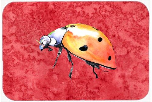 Lady Bug Rectangle Non-Slip Bath Rug