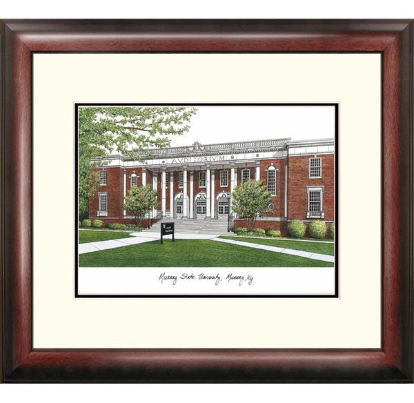 Alumnus Framed Lithograph Picture Frame by Campus Images